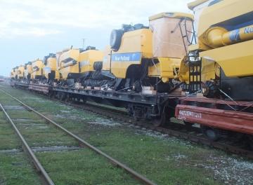 Technikos pervežimas geležinkeliais
