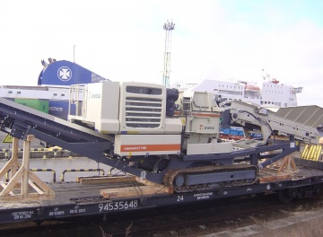 Multimodalinis krovinių gabenimas. Akmenskaldės gabenimas